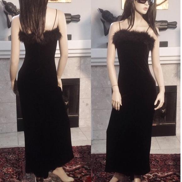 NWT ROBERTA $100 Purple Black Formal Evening Gown S